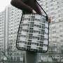 Egy épület nyomattal ellátott táskáért 25 eurót (kb.7695 forint) kérnek.