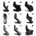 Tamaris: A cipőik nem olcsóak, de a kolléganők beszámolói szerint nagyon kényelmesek, még a magas sarkúak is. A kövekkel kirakott 15990 Ft. Aminek a sarka díszített, az már viszont 29990 Ft, de ez bőrből  van.