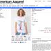 Maszturbálós/ menstruálós pólójáért 7060 forintot kér az American Apparel.
