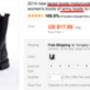 Motoros bakancsot értelemszerűen 'motorcycle boots'-ként talál, bár legtöbbjük műbőr. Ha valódi bőrt keres, írja utána, hogy genuine leather, de ne számítson jobb árakra, mint a hazai üzletekben.