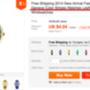 A különböző színekben kapható, csíkozott számlapra egyszerű 'stripes watchként' is rátalál, 4 dollárba kerül.