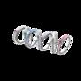 Készítsen válogatást kedvenc árnyalataiból a PANDORA Szívei sterling ezüst gyűrűkkel! (16.990 forint/darab)